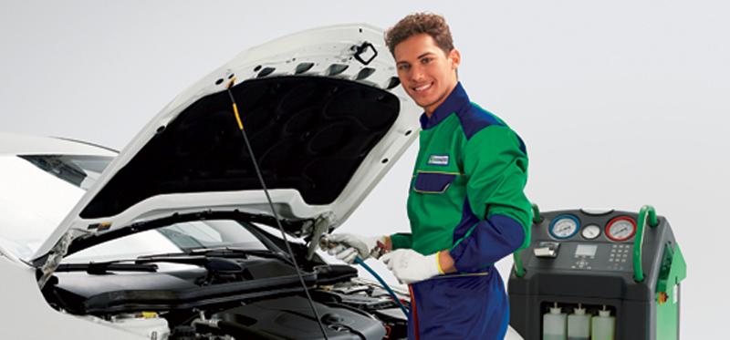 Controllo climatizzatore auto