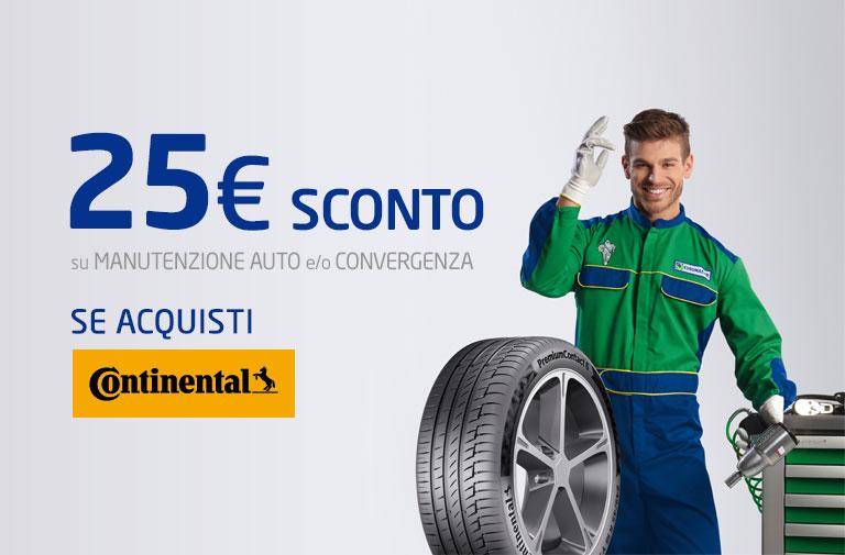 Promo pneumatici Continental